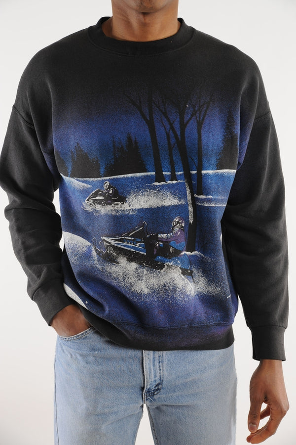 Snow Mobile Sweatshirt