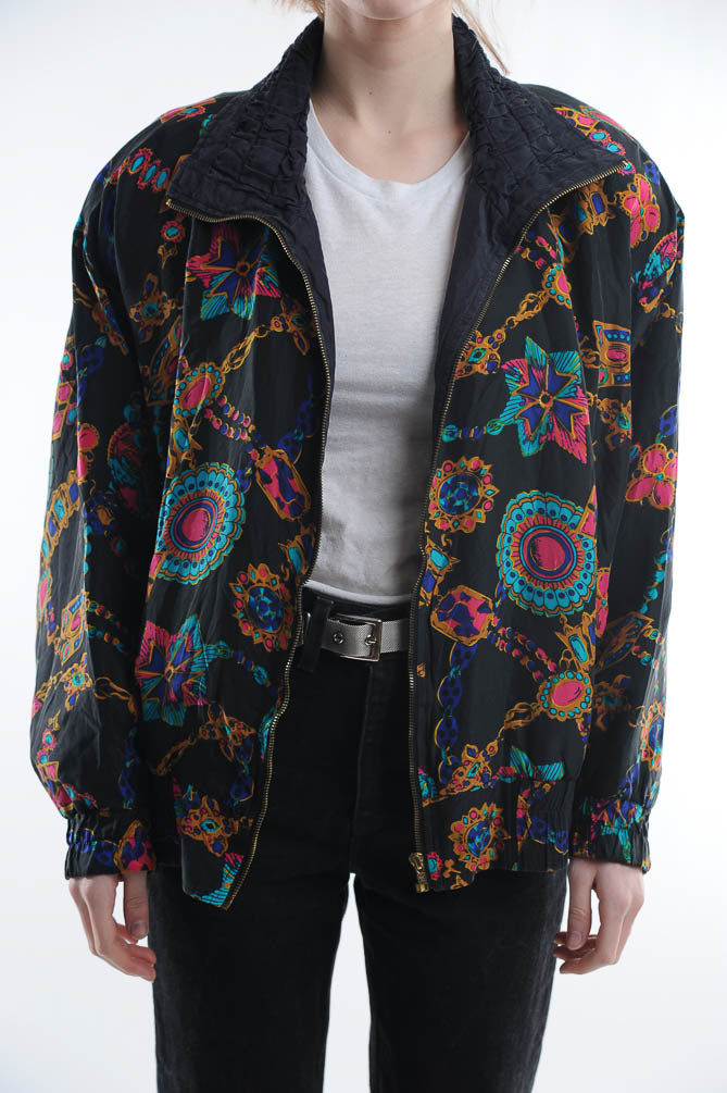 Jewel Print Windbreaker