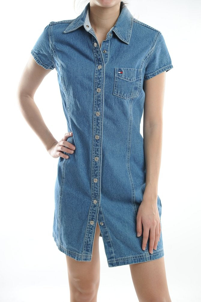 Tommy Hilfiger Denim Mini Dress