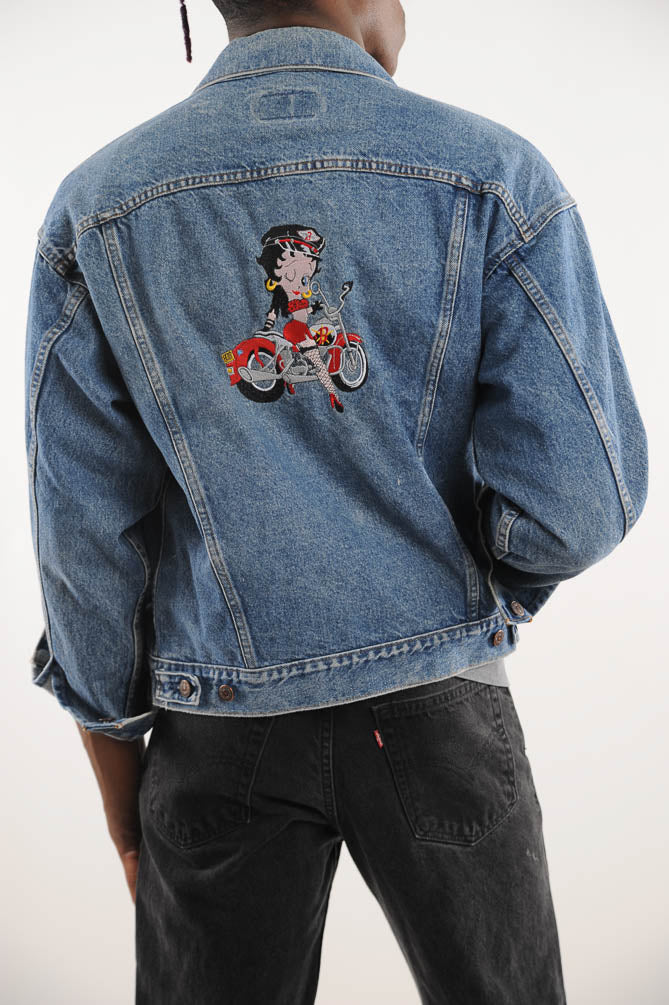 Betty Boop Levi's Denim Jacket