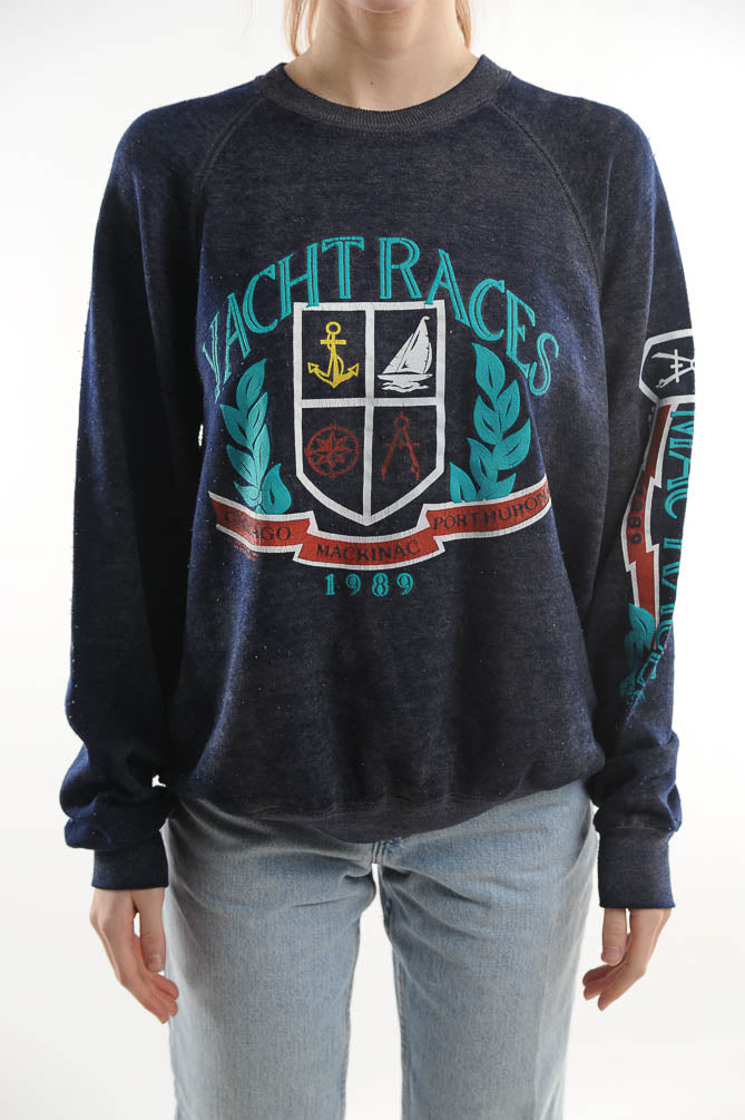 Yacht Races Sweatshirt