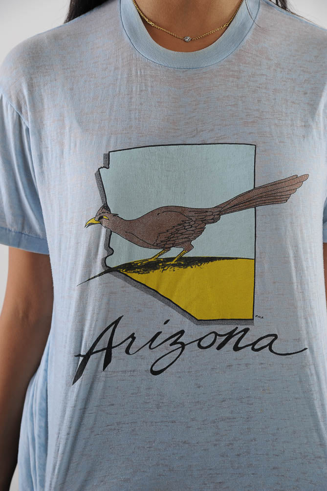 Light Blue Arizona Tee