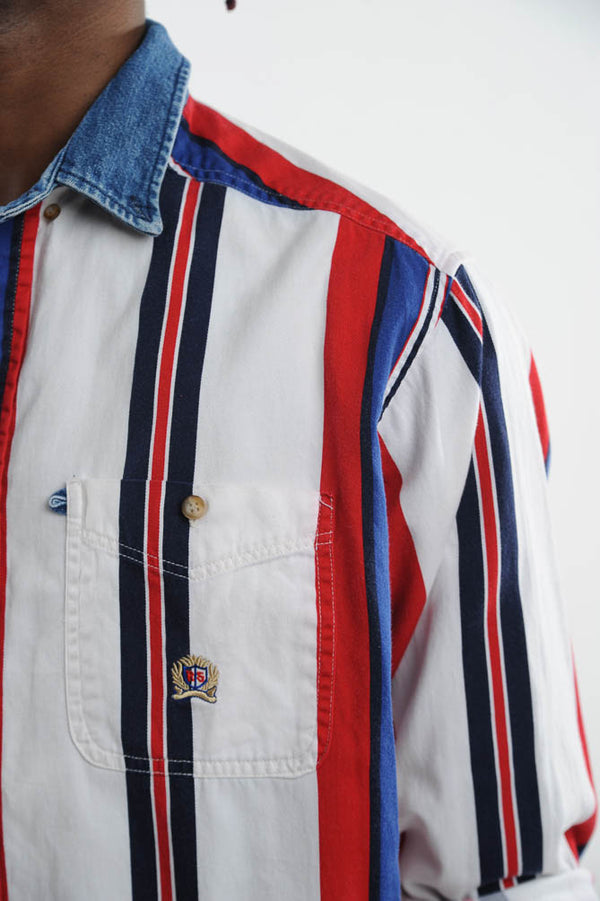 Tommy Hilfiger Striped Button Down