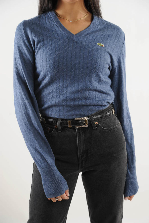 Blue Lacoste Sweater