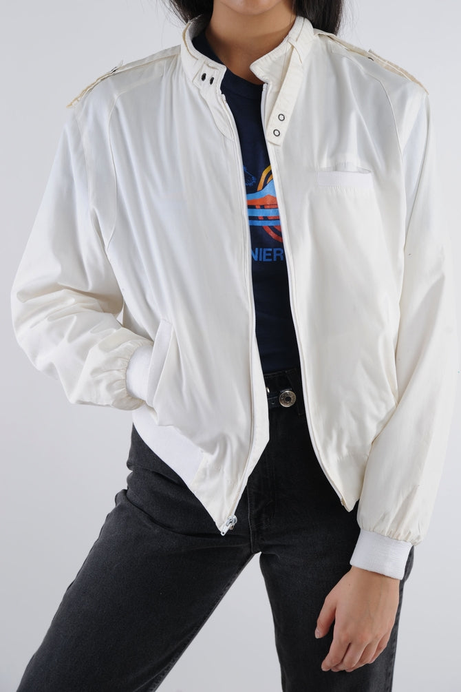White Lightweight Jacket