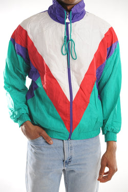Colorblock Windbreaker