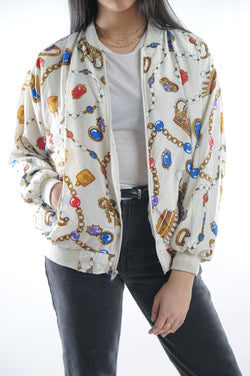 Chains and Gems Windbreaker