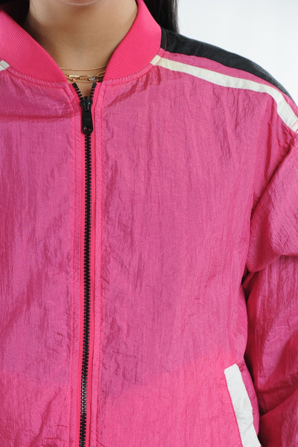 Reversible Colorblock Windbreaker