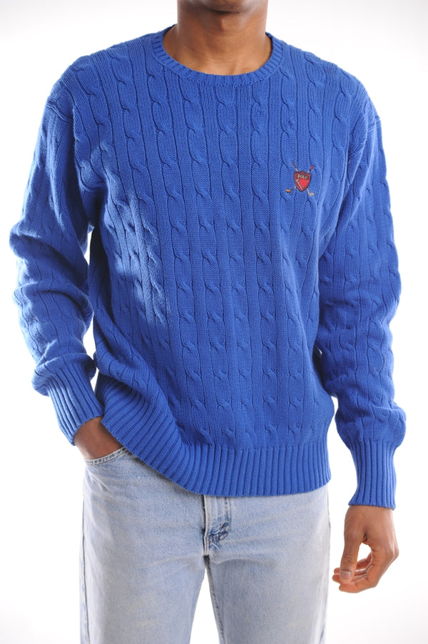 Cerulean Ralph Lauren Sweater