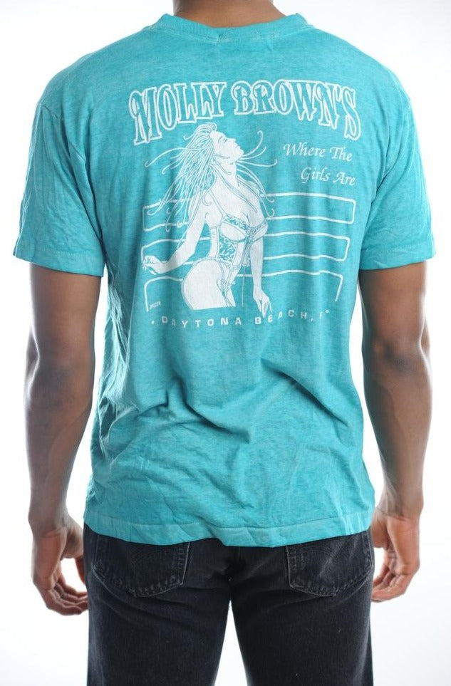 Blue Daytona Beach Tee