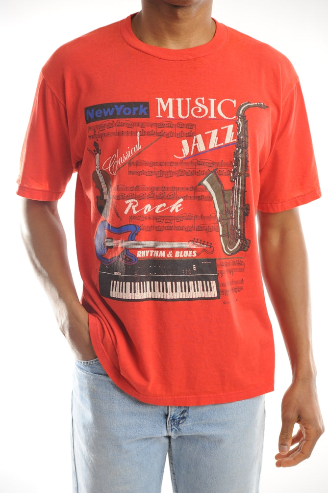 New York Music Tee