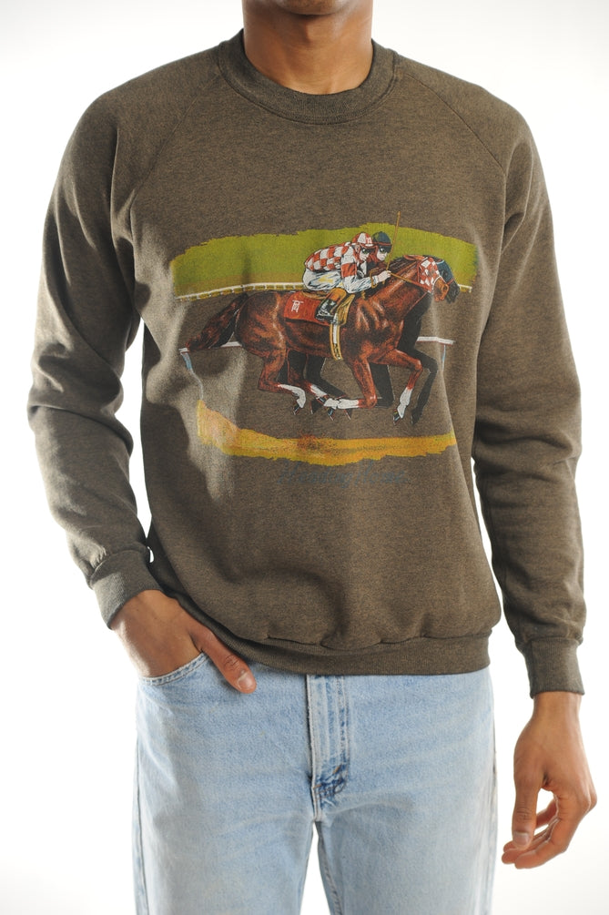 Off to the Races sweatshirt