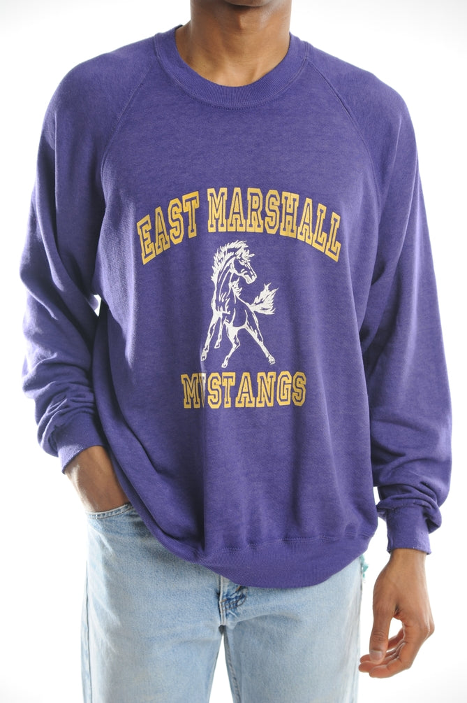 East Marshall Mustangs Sweatshirt