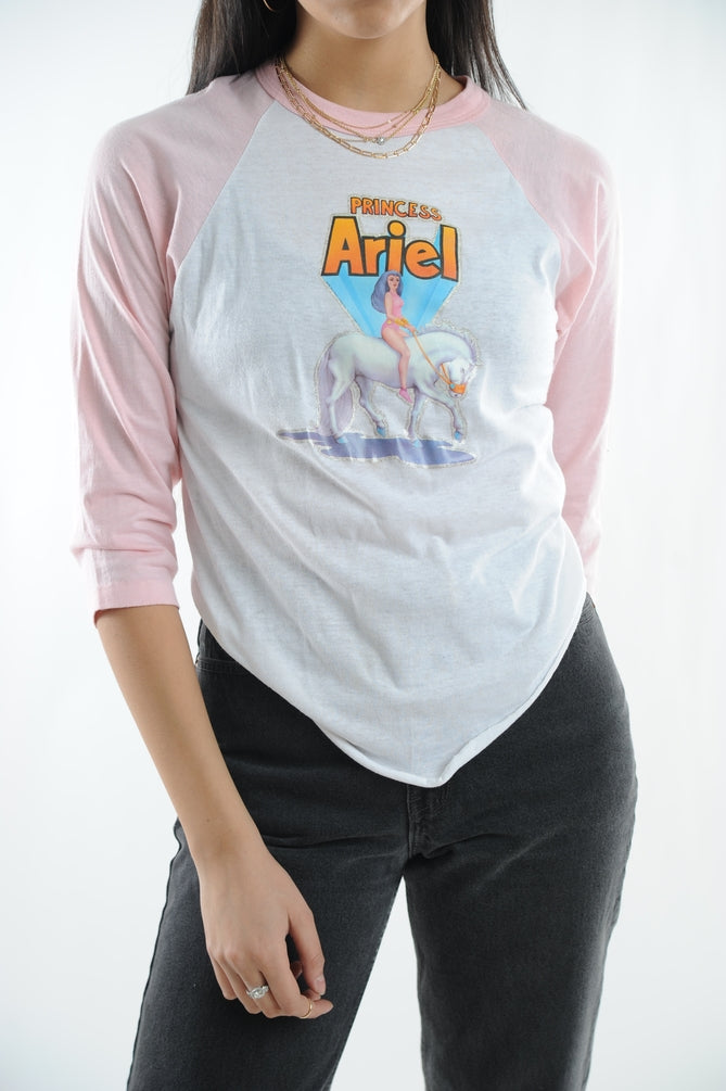 Princess Ariel Baseball Tee