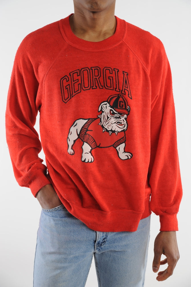 Georgia Bulldogs Crazy Soft Sweatshirt