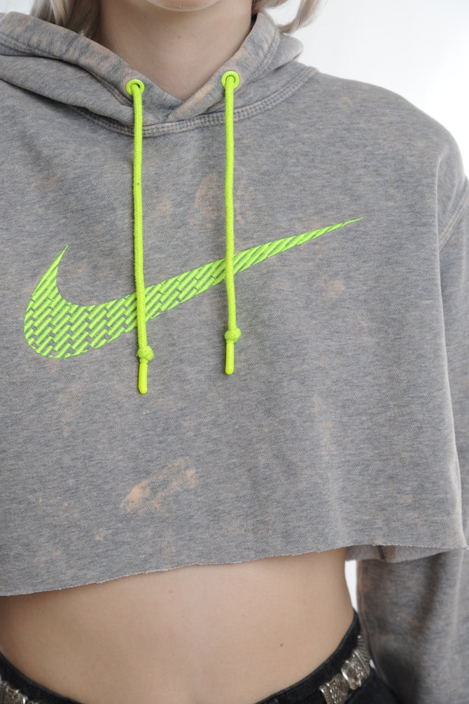Nike Cropped Marble Wash Sweatshirt