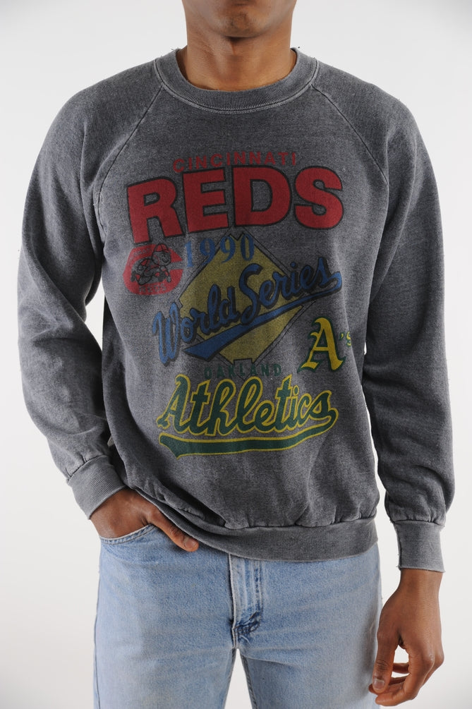 1990 Cincinnati Reds Crazy Soft Sweatshirt
