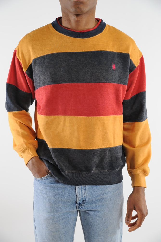 Ralph Lauren Striped Sweatshirt