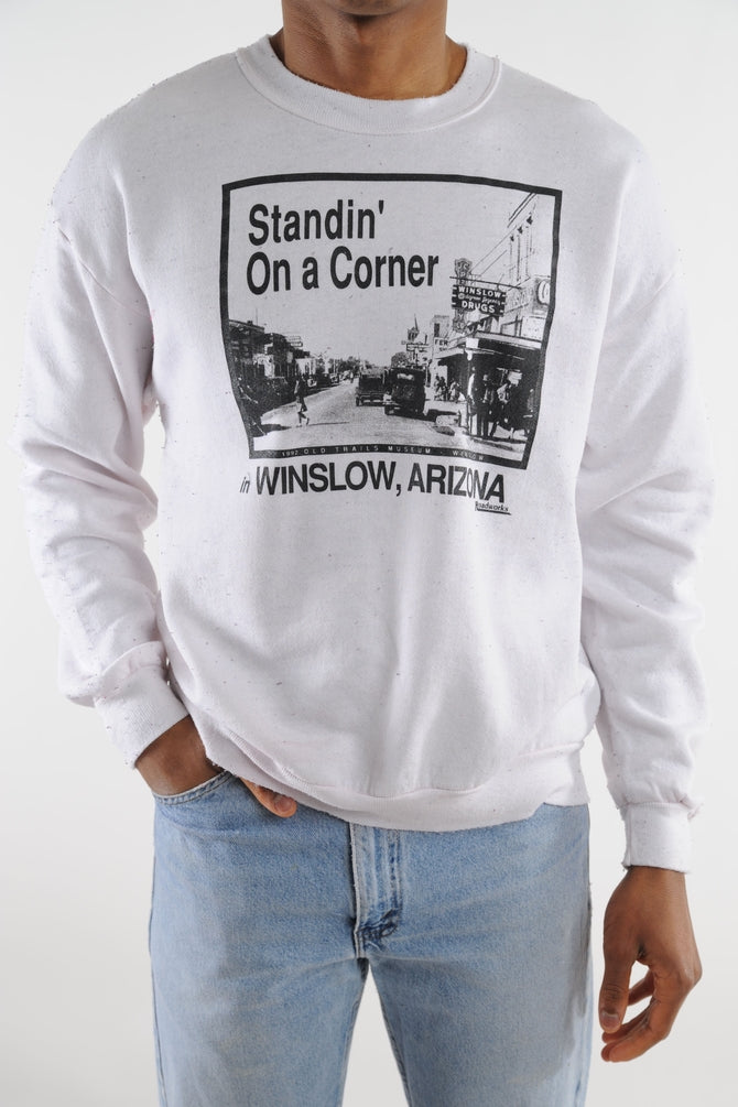 Corner in Arizona Crazy Soft Sweatshirt