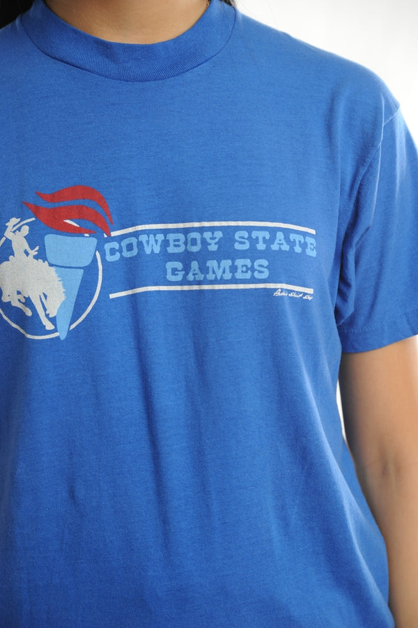 Cowboy State Games Tee