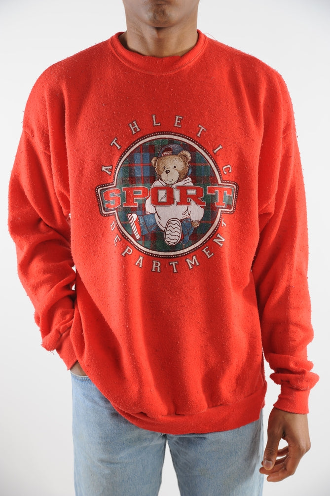Athletic Sport Department Sweatshirt