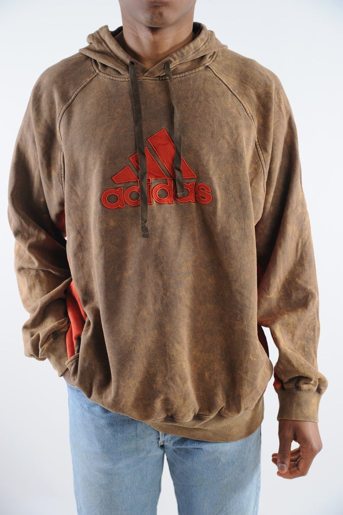 Acid Wash Adidas Sweatshirt
