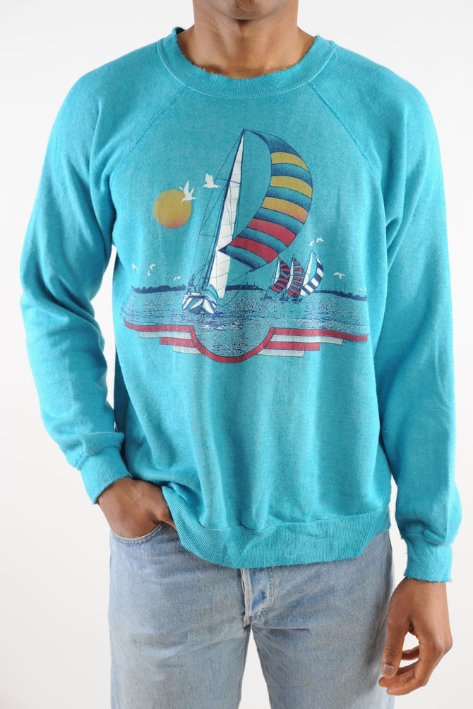 Sailboats Sweatshirt