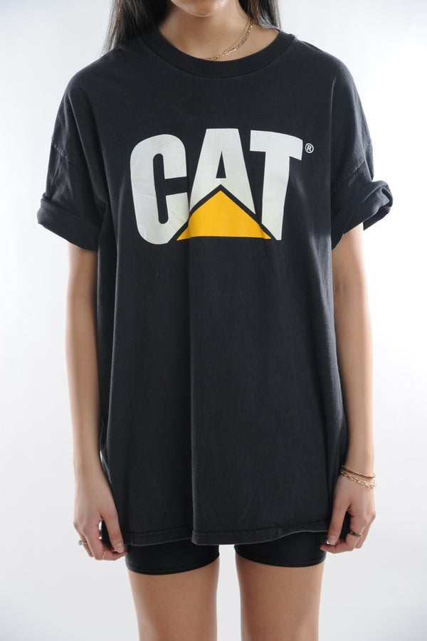 Cat Construction Tee