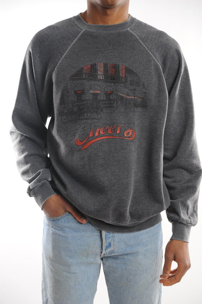 Gray Cheers Sweatshirt