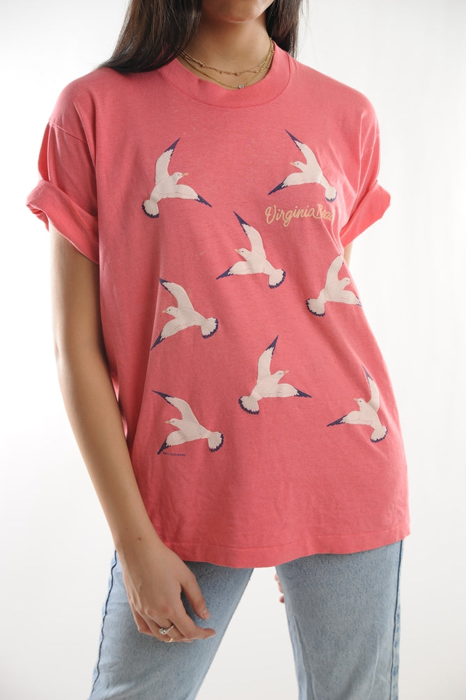 Salmon Virginia Beach Tee