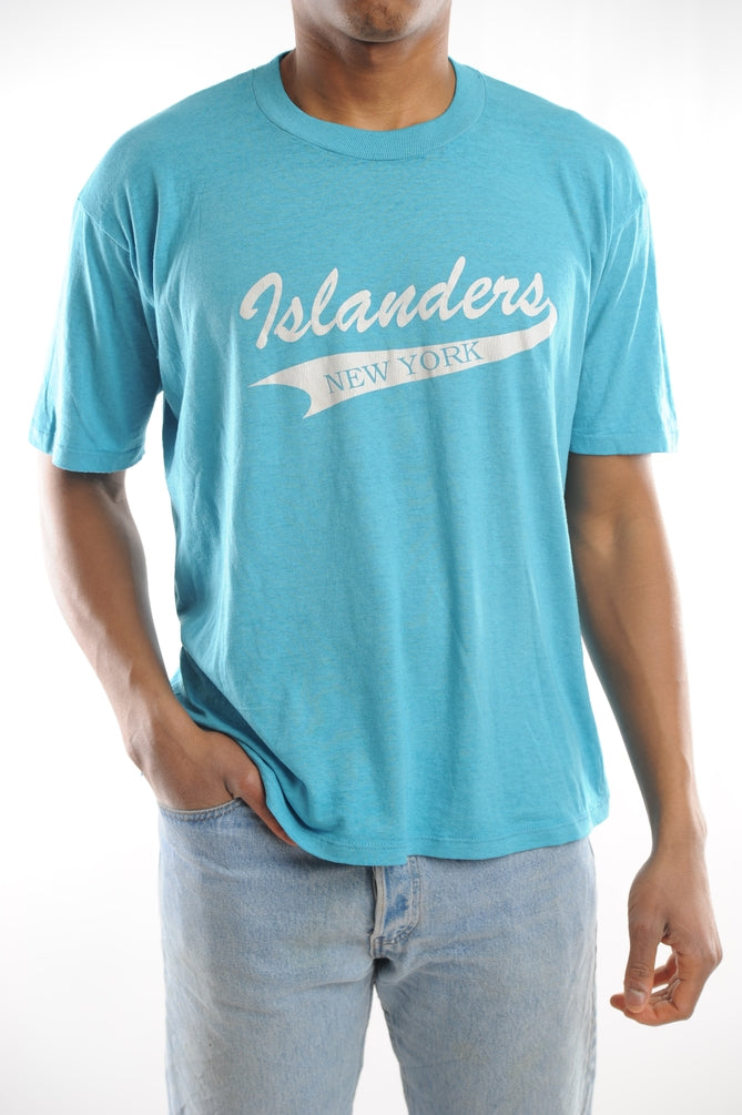 Blue Islanders New York Tee
