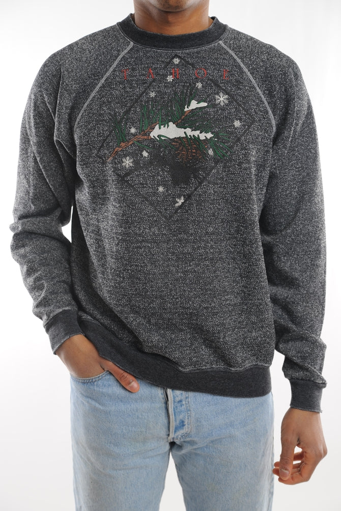 Gray Lake Tahoe Sweatshirt