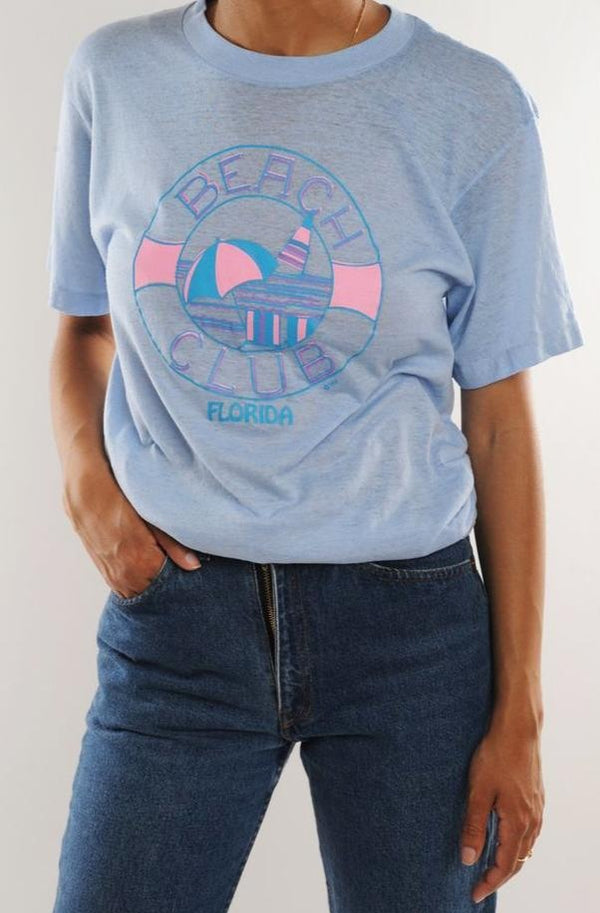 Florida Beach Club Tee