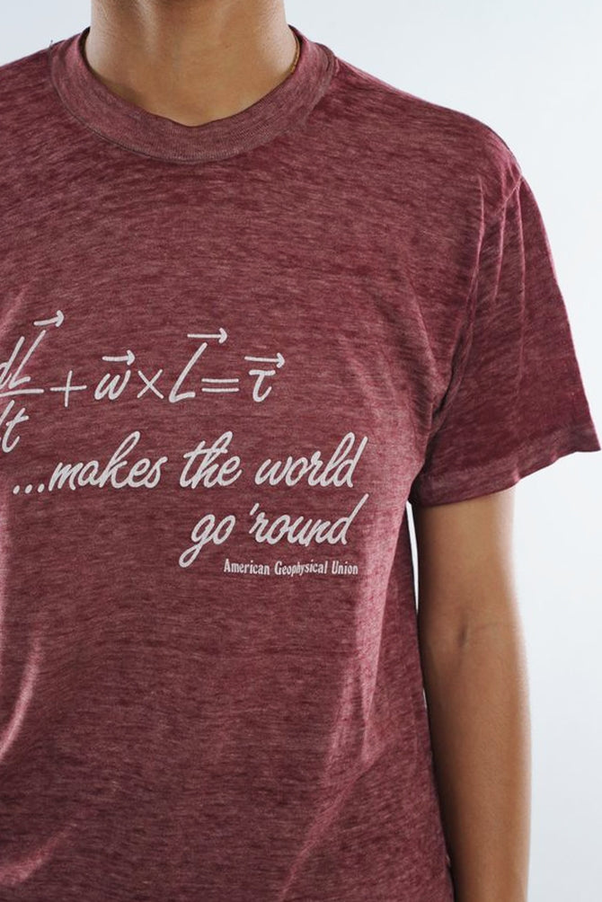 Geophysical Union Round The World Tee