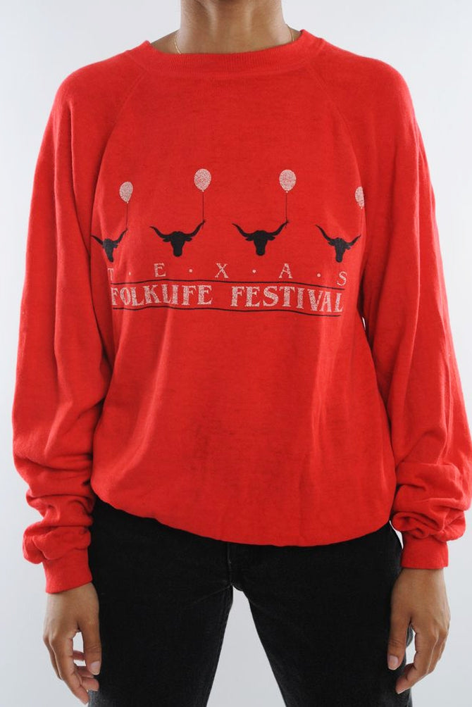 Folk Life Texas Sweatshirt