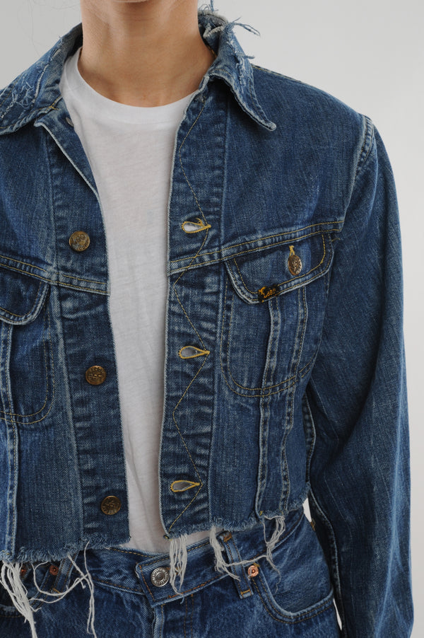 Cropped Lee Denim Jacket