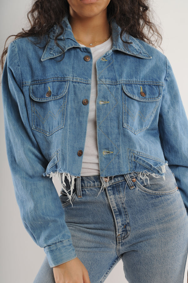 Cropped Levi's Denim Jacket