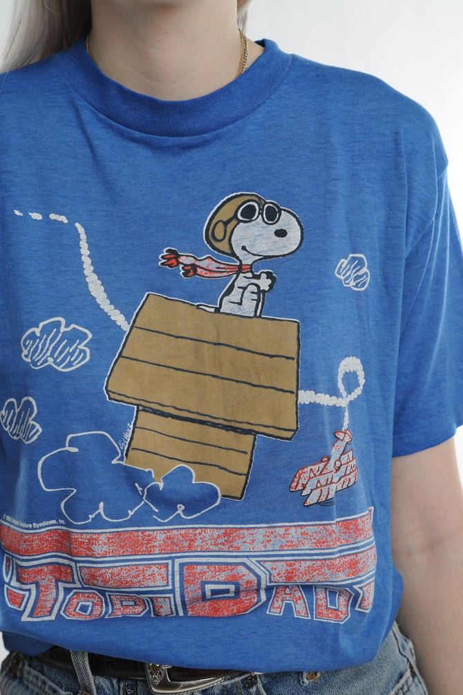 Snoopy Top Dad Tee