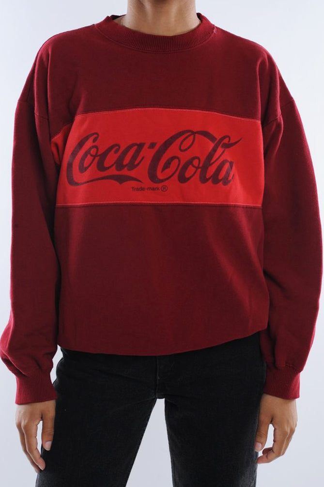 Coca Cola Colorblock Sweatshirt