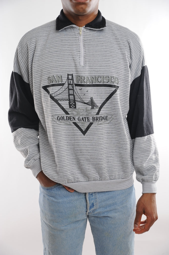 San Francisco Collared Sweatshirt