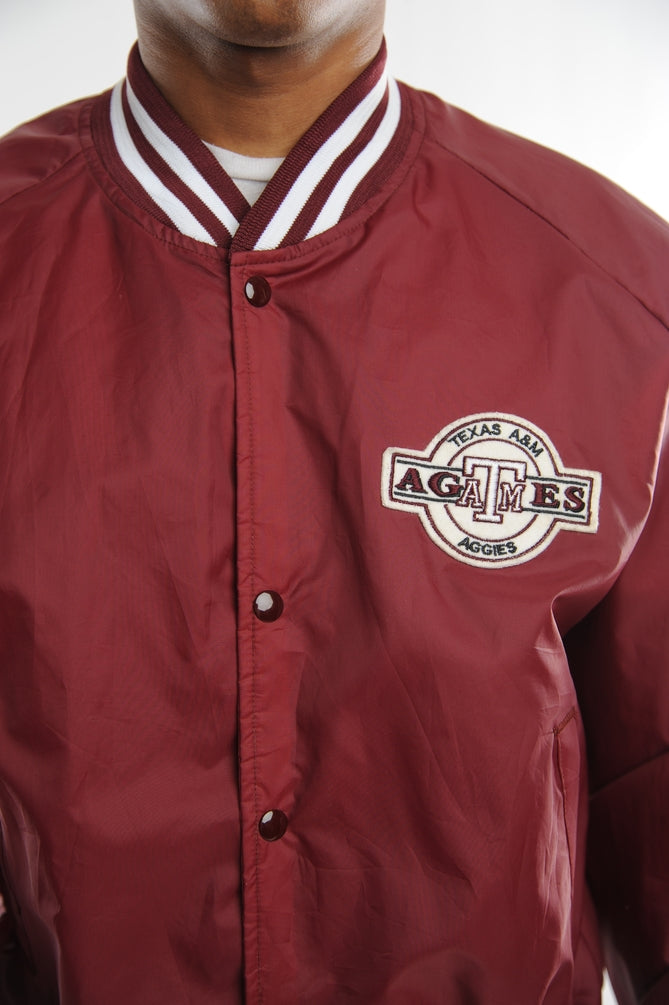 Texas A&M Satin Bomber Jacket