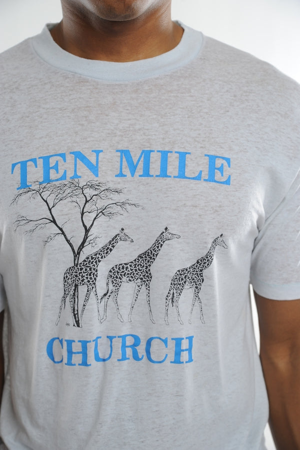 Ten Mile Church Giraffe Tee