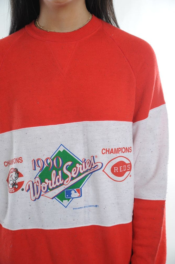 Cincinnati World Series Colorblock Sweatshirt