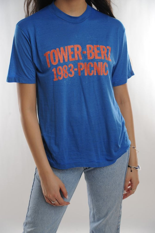 Tower Berz 1983 Picnic Tee