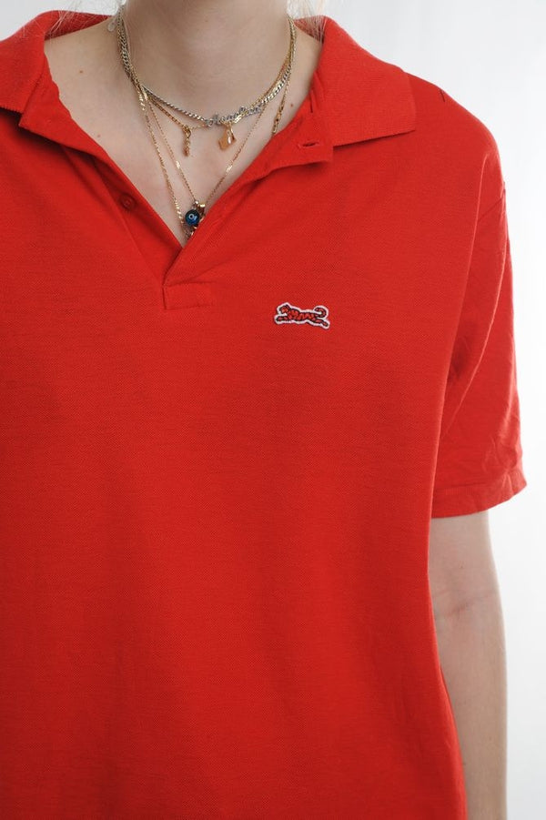 Le Tigre Red Polo