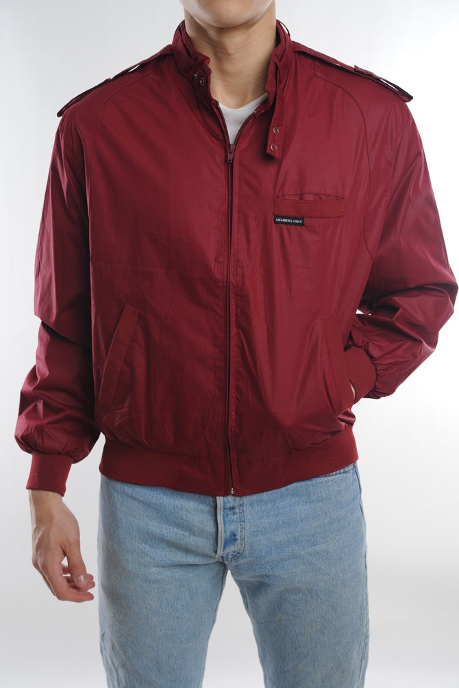 Red Member's Only Jacket