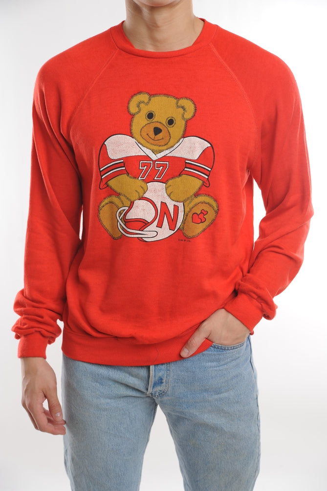 Football Bear Sweatshirt