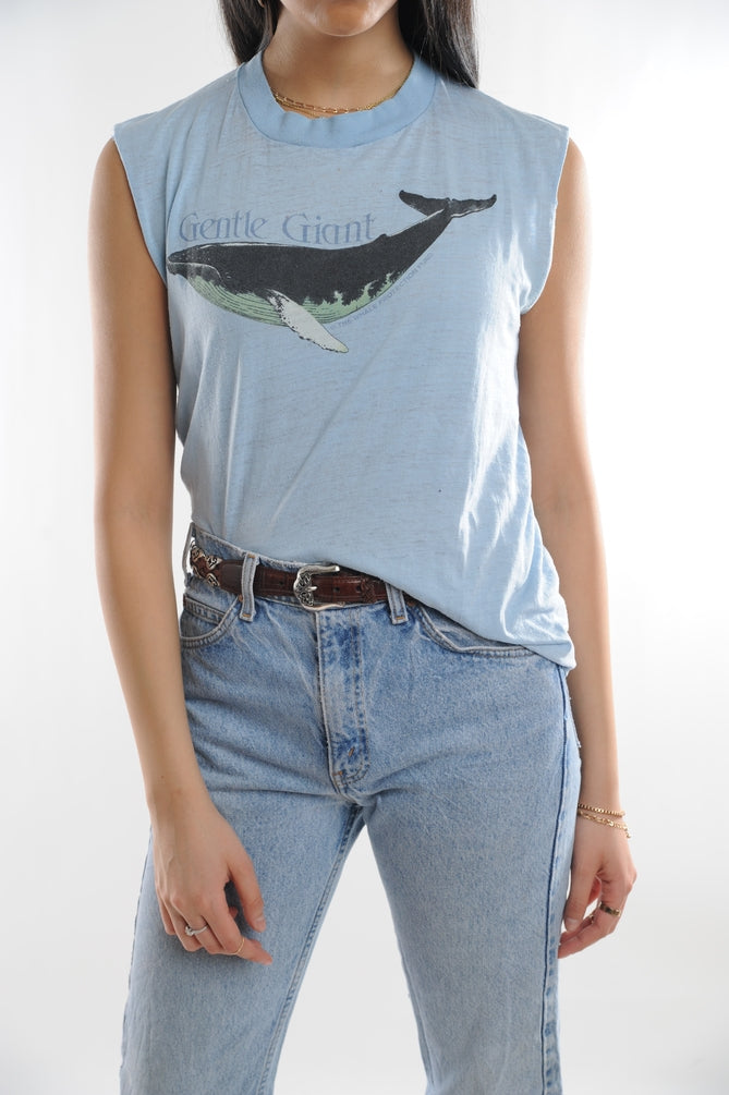 Gentle Giant Whale Muscle Tee