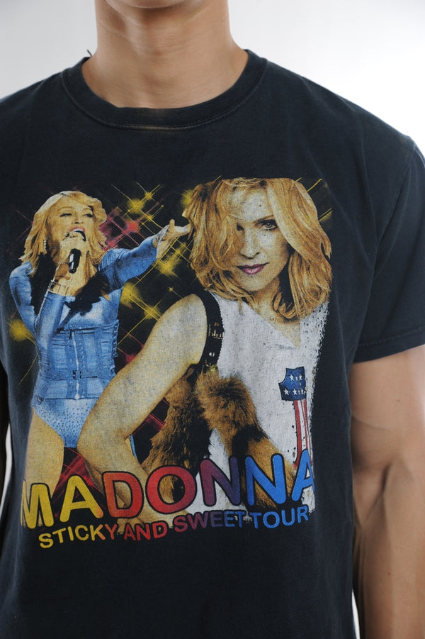 Madonna Sticky and Sweet Tour Tee