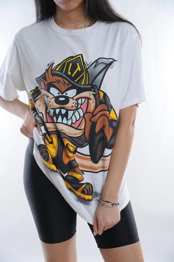 Tasmanian Devil Firefighter Tee